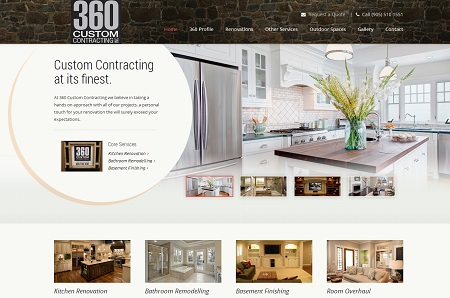 Web Design For Home Contractors And Renovation Companies Cool Home Interior Design Websites Remodelling