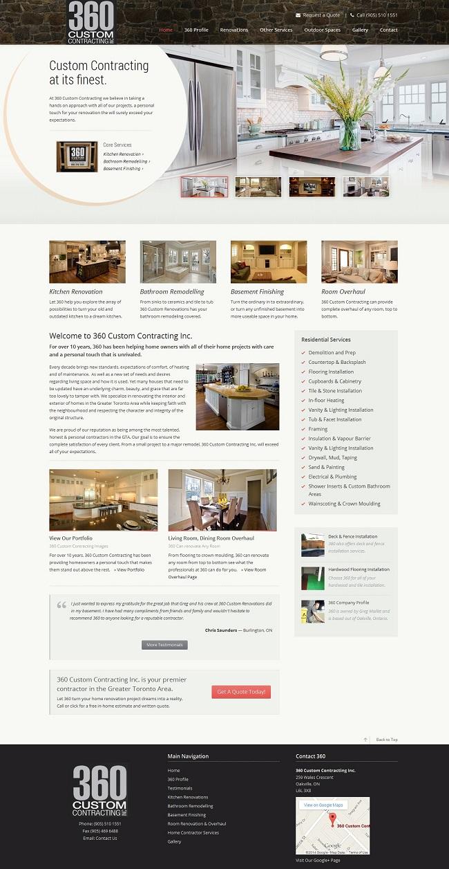 Hamilton's Best & Biggest Website Design Portfolio   SEO